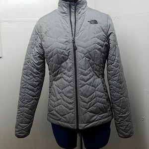 The North Face Thin Gray Puffer Jacket